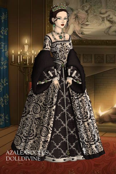 New Character ~ by Badalice ~ created using the Tudors doll maker | DollDivine.com #dollvictoriandressstyles