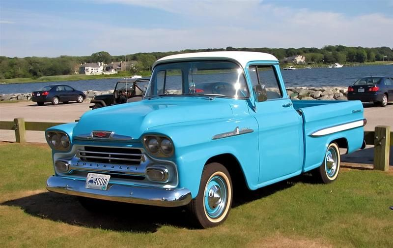 Chevy Pickup Truck History 1955 1959 By Mark Trotta With Images