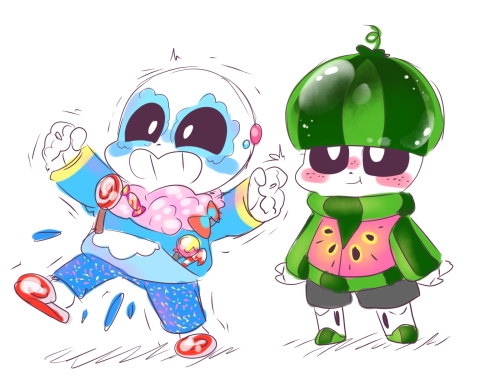 would sugar and melon be in pj s daycare too meatbunattack