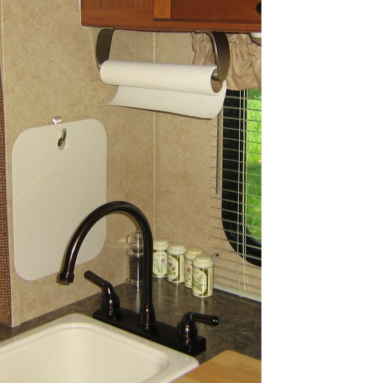 Simple Yet Brilliant A Small Sticky Hook To Hold The Cutting Classy Small Camping Trailers With Bathrooms Design Decoration