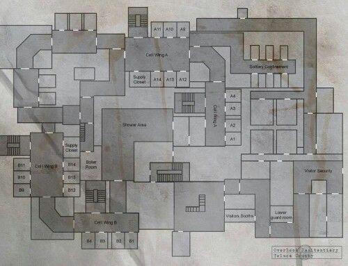 Prison Layout Layout Prison Shower