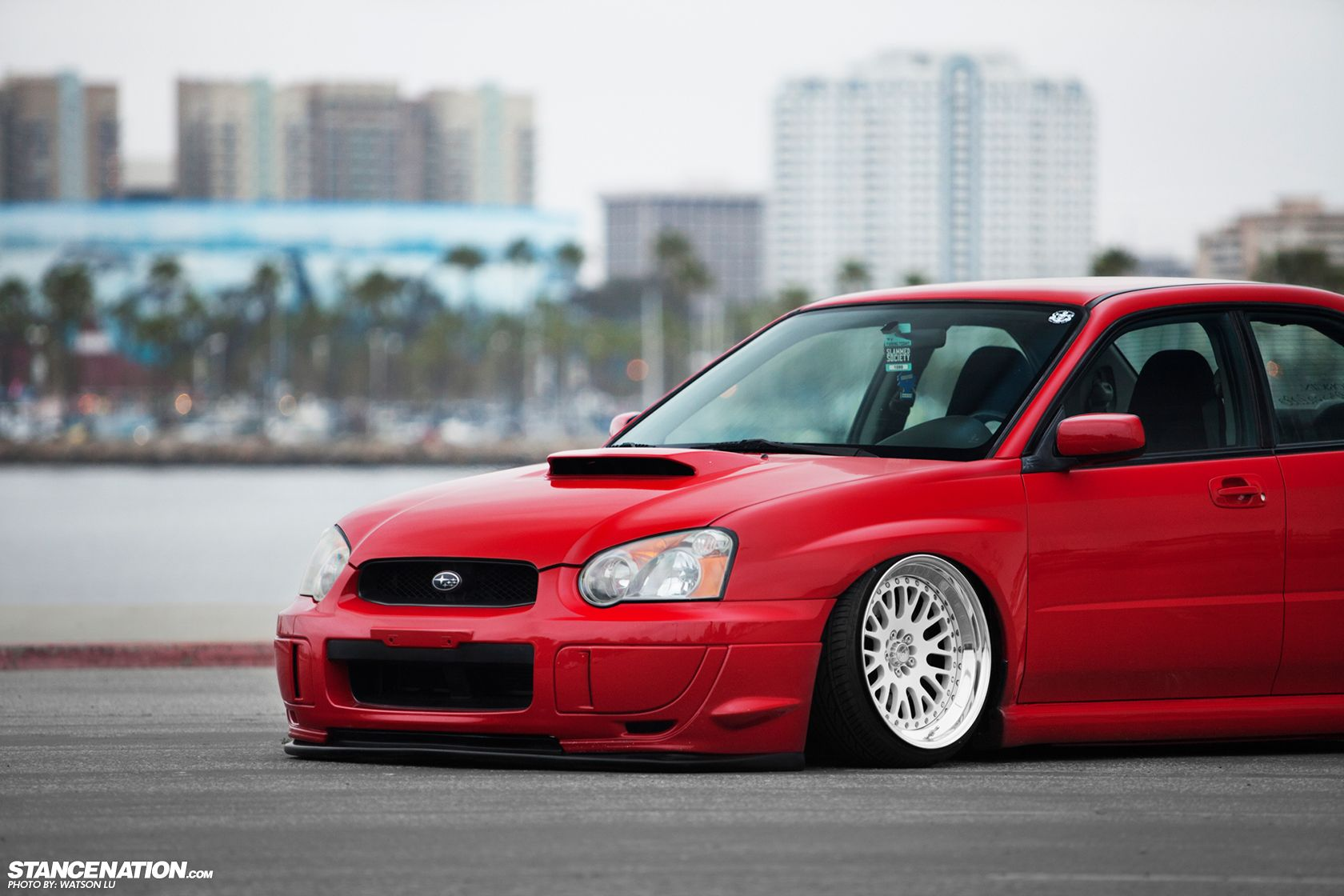 Slammed | Fitment Slammed Socal Stanced Subaru Watson Lu