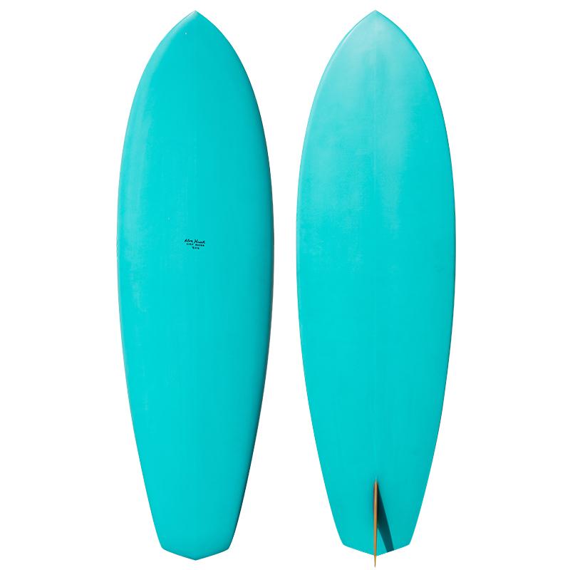 "Alex Knost 5'10"" Single Fin Diamond Tail Surfboard"
