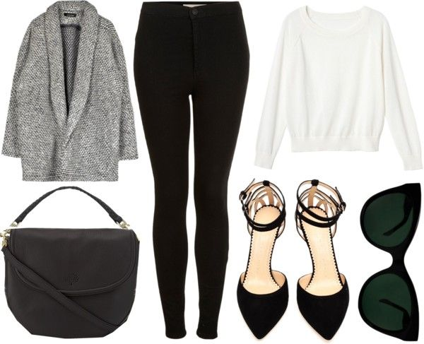 Style - Minimal + Classic: minimal outfit via Polyvore/grey-eyes
