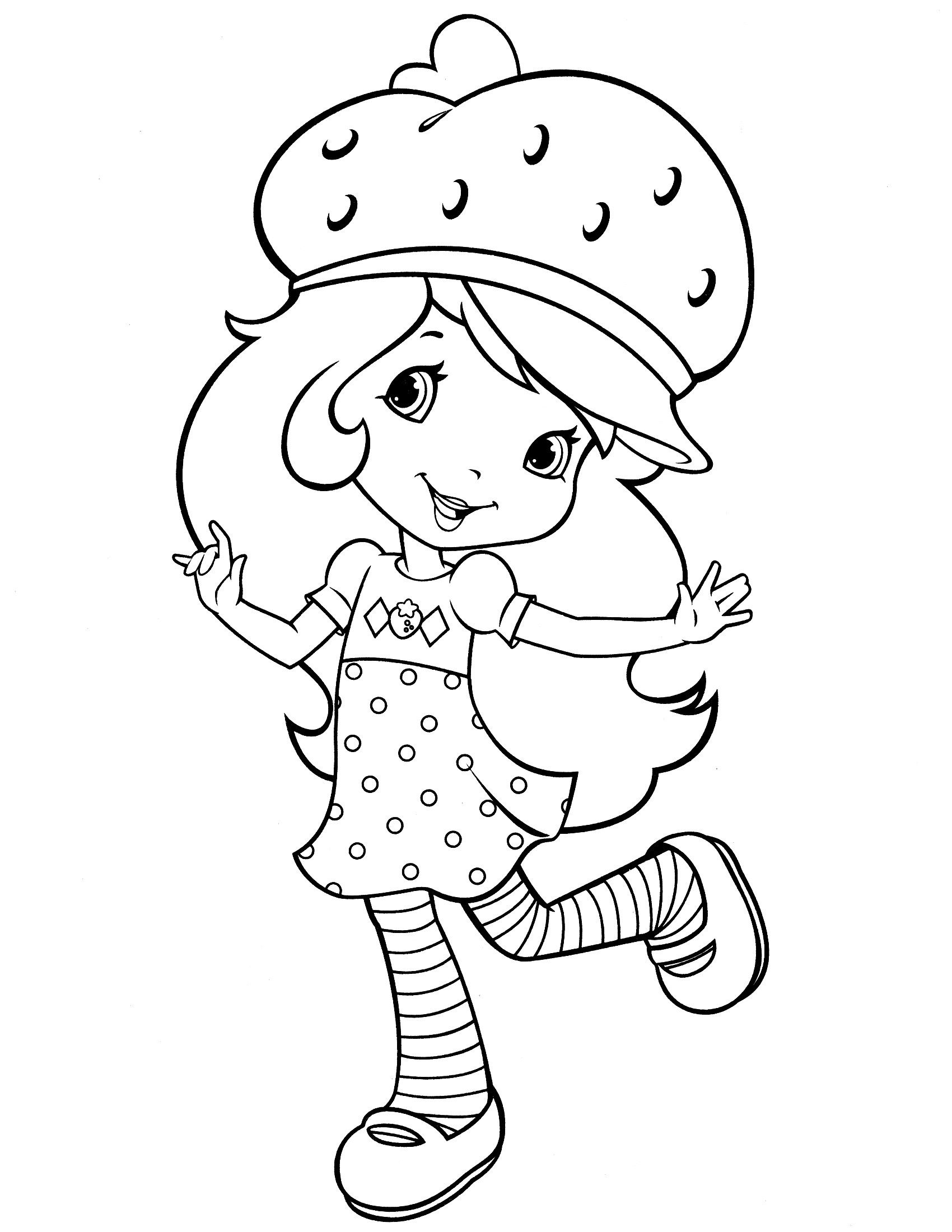 24 Pretty Photo Of Strawberry Coloring Page Davemelillo Com Strawberry Shortcake Coloring Pages Coloring Books Cartoon Coloring Pages