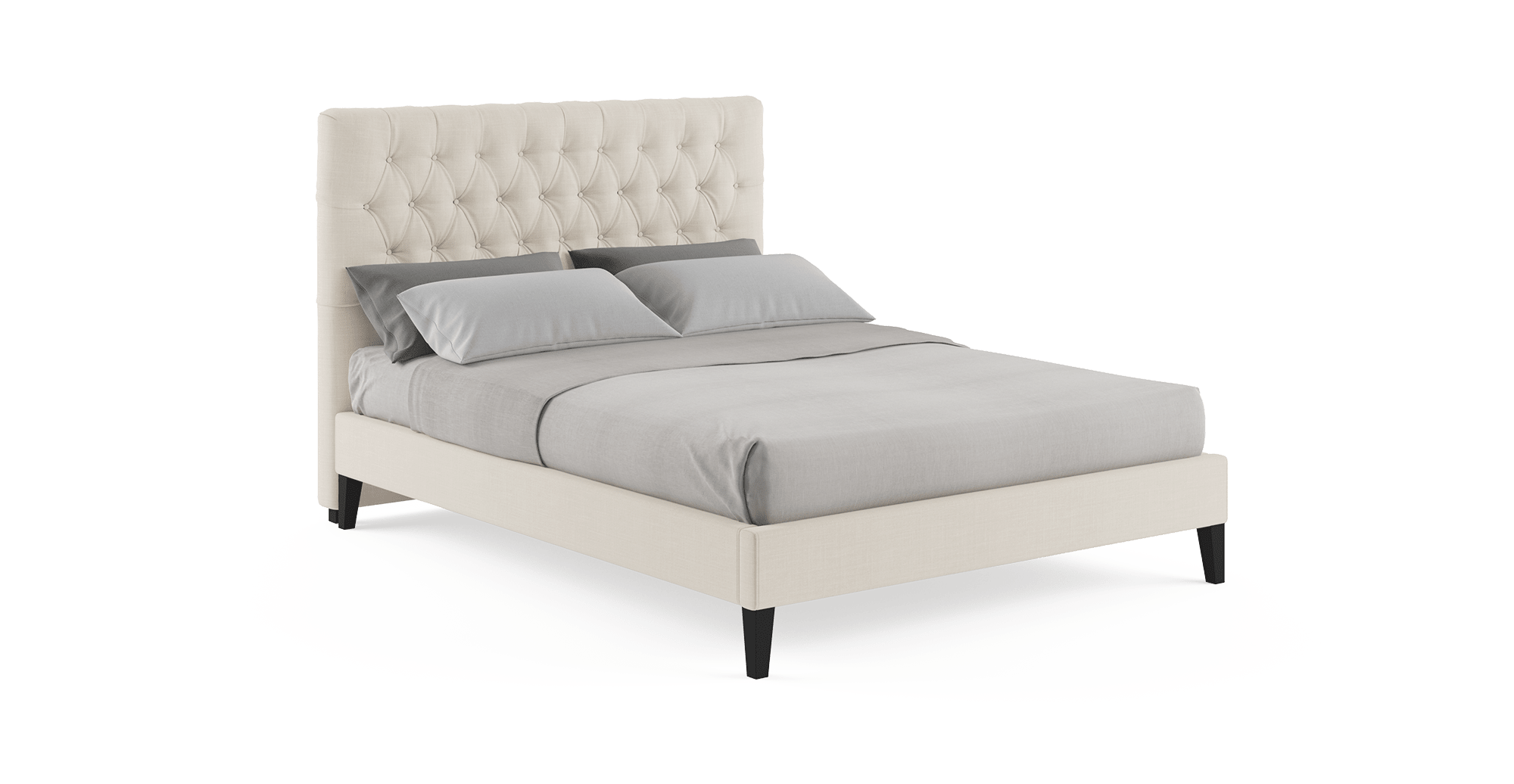 Emily Queen Slim Bed Frame (With images) King size bed