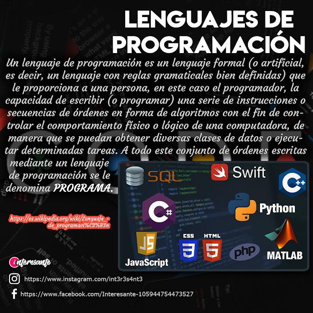Lenguajes De Programación Lenguaje De Programacion Programacion Reglas Gramaticales