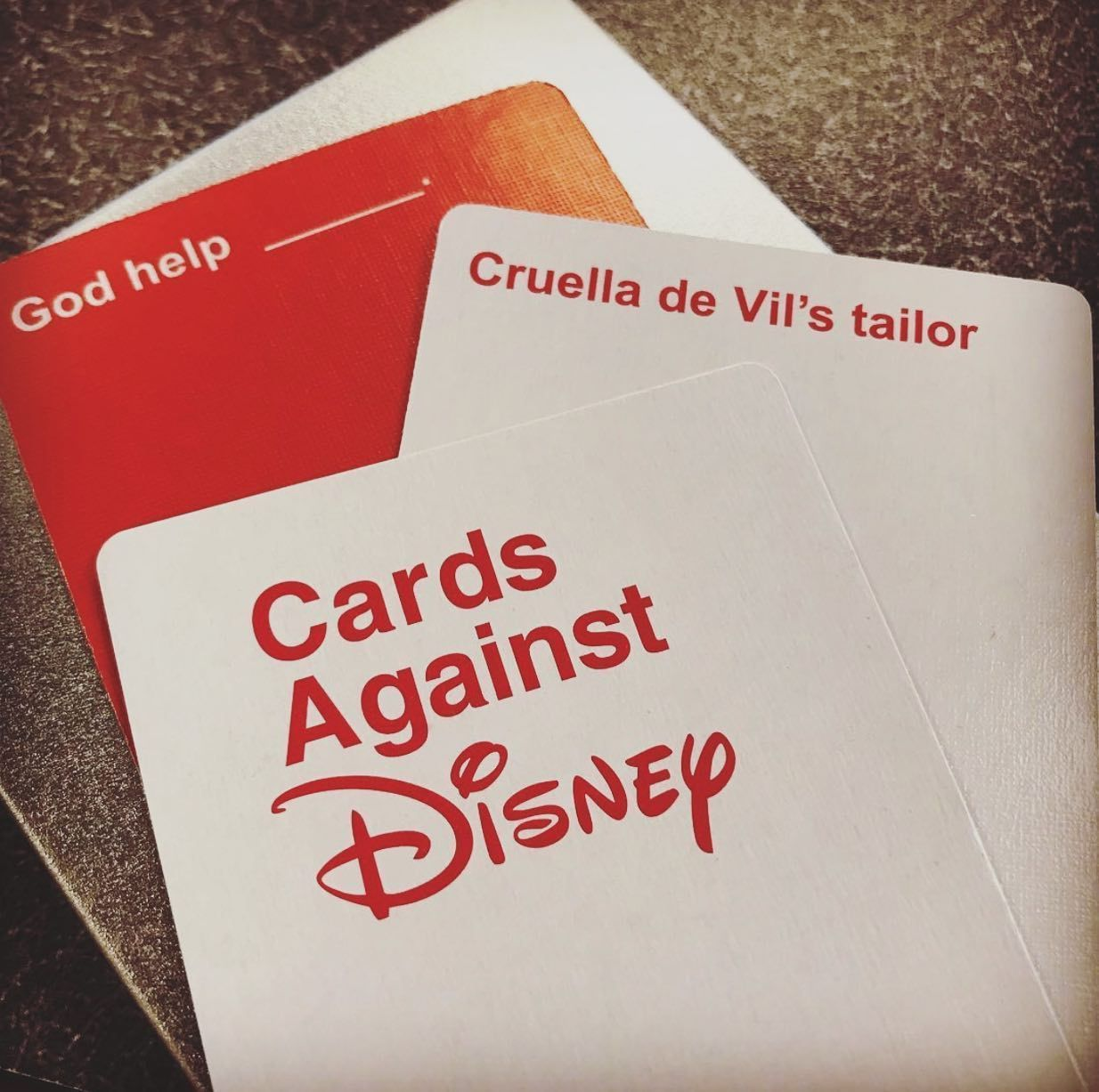 Cards against disney edition buy set with 828 cards