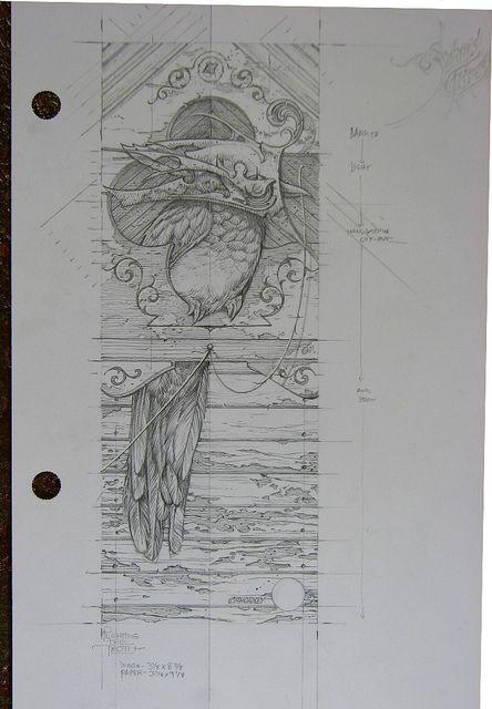Plighting The Troth sketch
