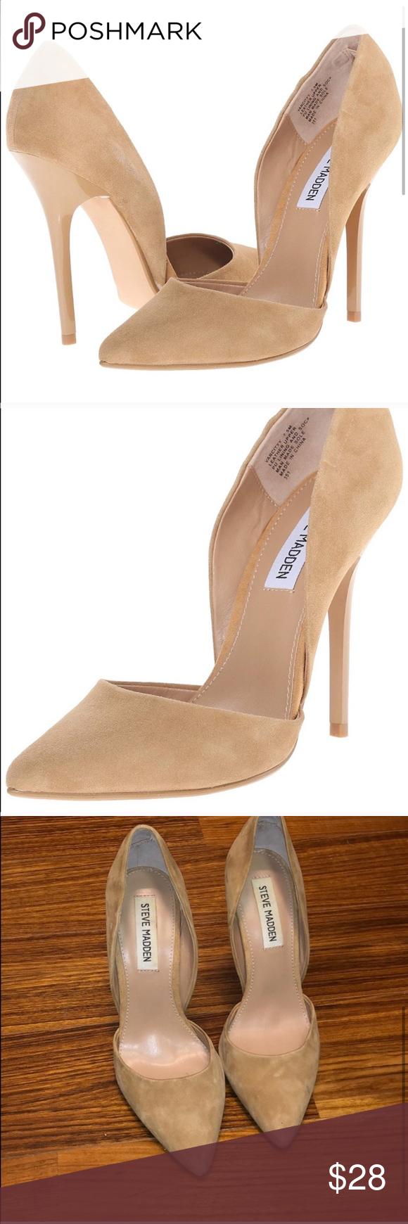 Óxido huella dactilar desconcertado  Steve Madden Varcitty D'Orsay Suede Pump | Shoes women heels, Suede pumps,  Pumps
