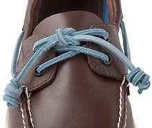 Shoe lace patterns, Leather shoe laces
