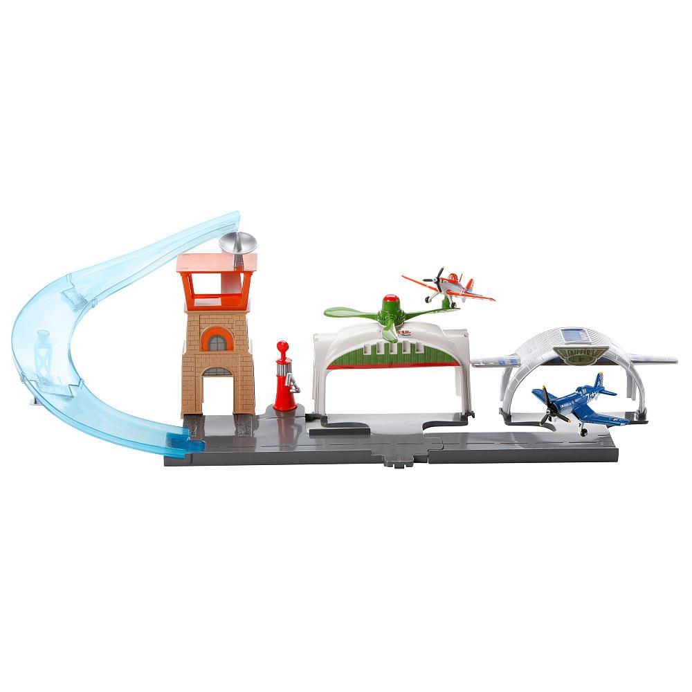 $47.99 Toys R Us Exclusive Disney Planes Deluxe Pit Row Playset ...