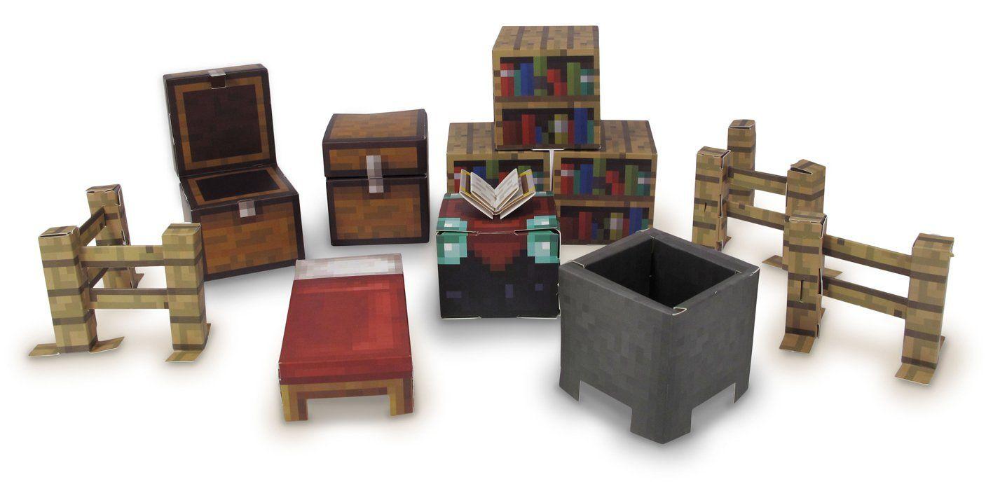 Amazon com: Minecraft Papercraft Utility Pack, Over 30