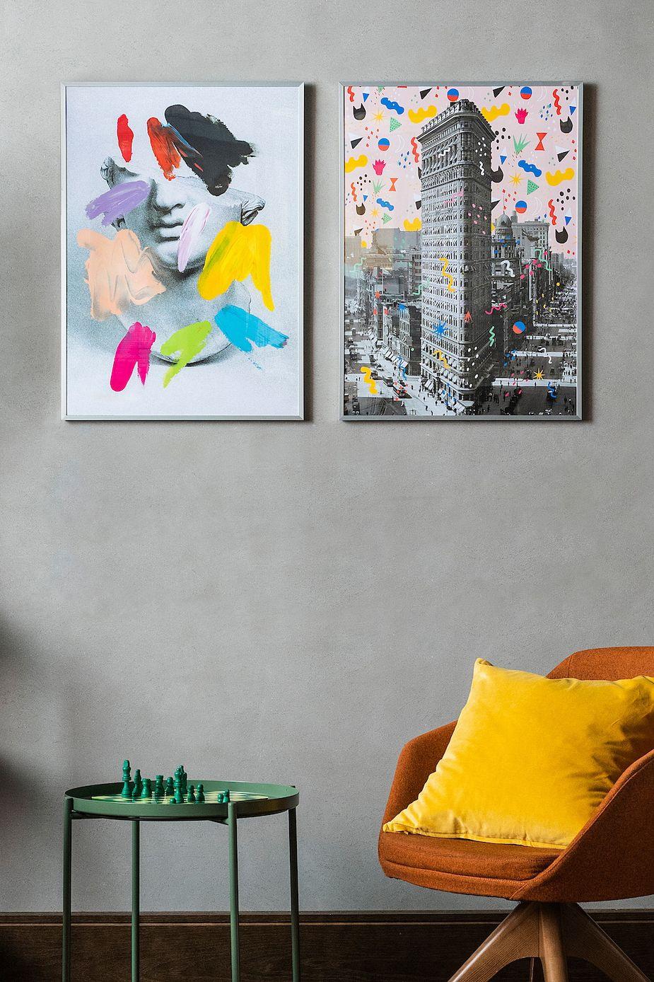Wohnraume Personlich Gestalten Mit Ikea Bild Flatiron Building New York 50x70 Cm Neu Ikea Deko Bilderrahmen Aufhangen Gestalten