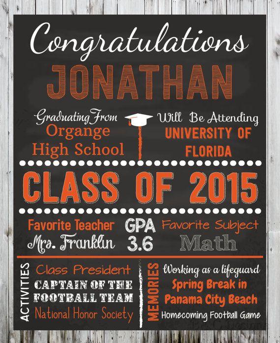 personalized graduation poster congratulations graduate by