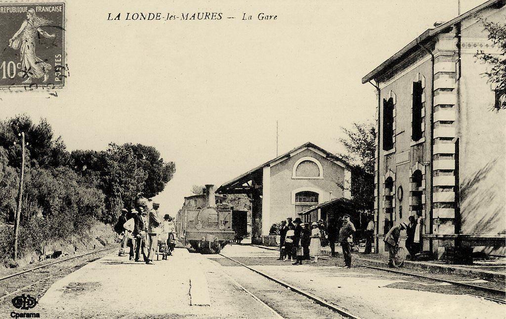 La Londe Les Maures Var La Londe Les Maures Cavalaire Sur Mer Carte Postale