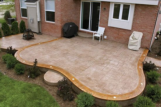 Stained And Stamped Concrete   ... 29 Patio In Macomb