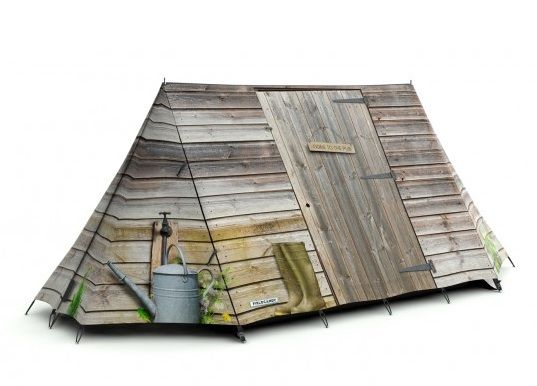 Love them! Is it a tent is it a shed! It's both!