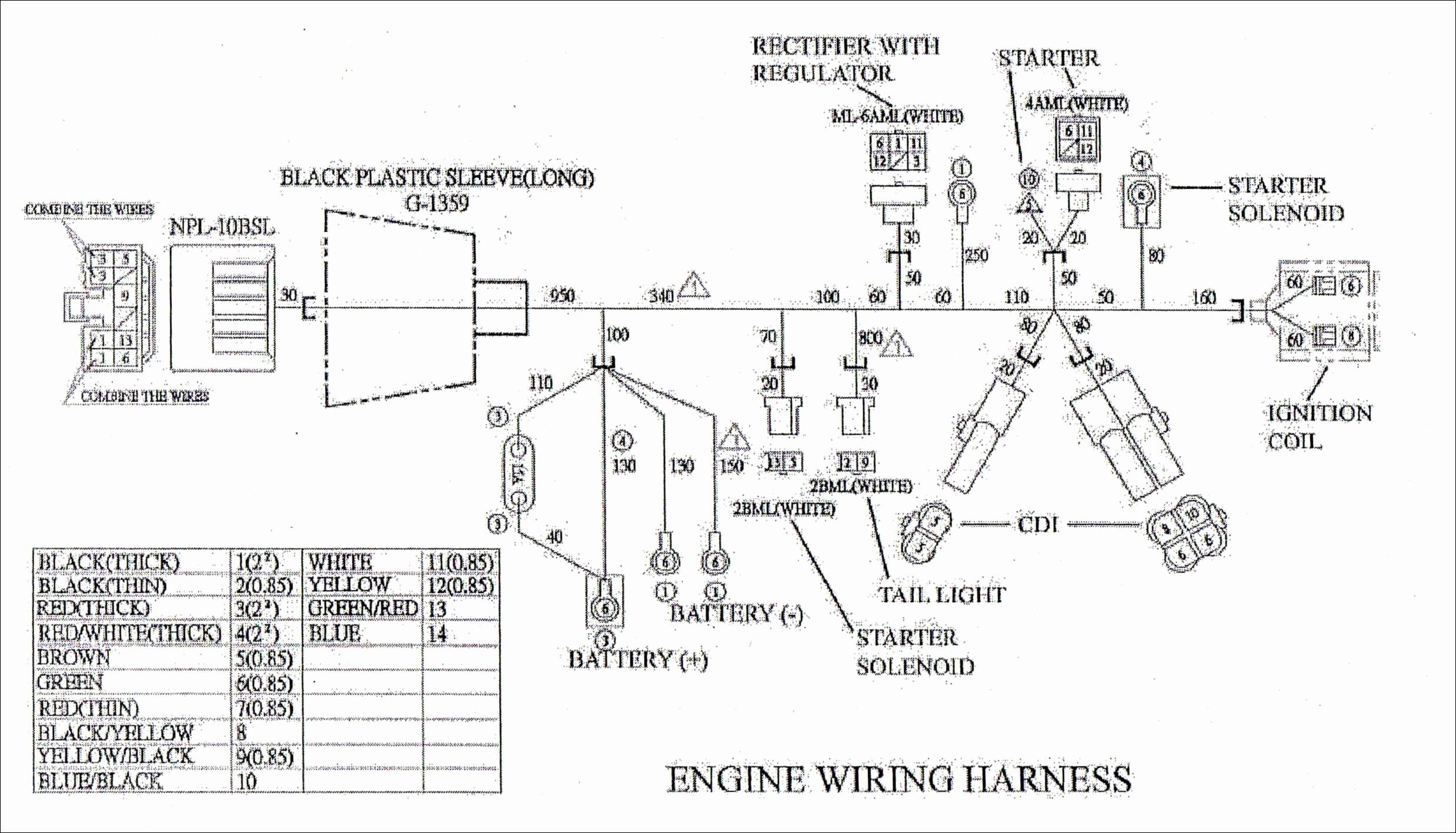 Unique Wiring Diagram Car Starter 150cc, Diagram, Car