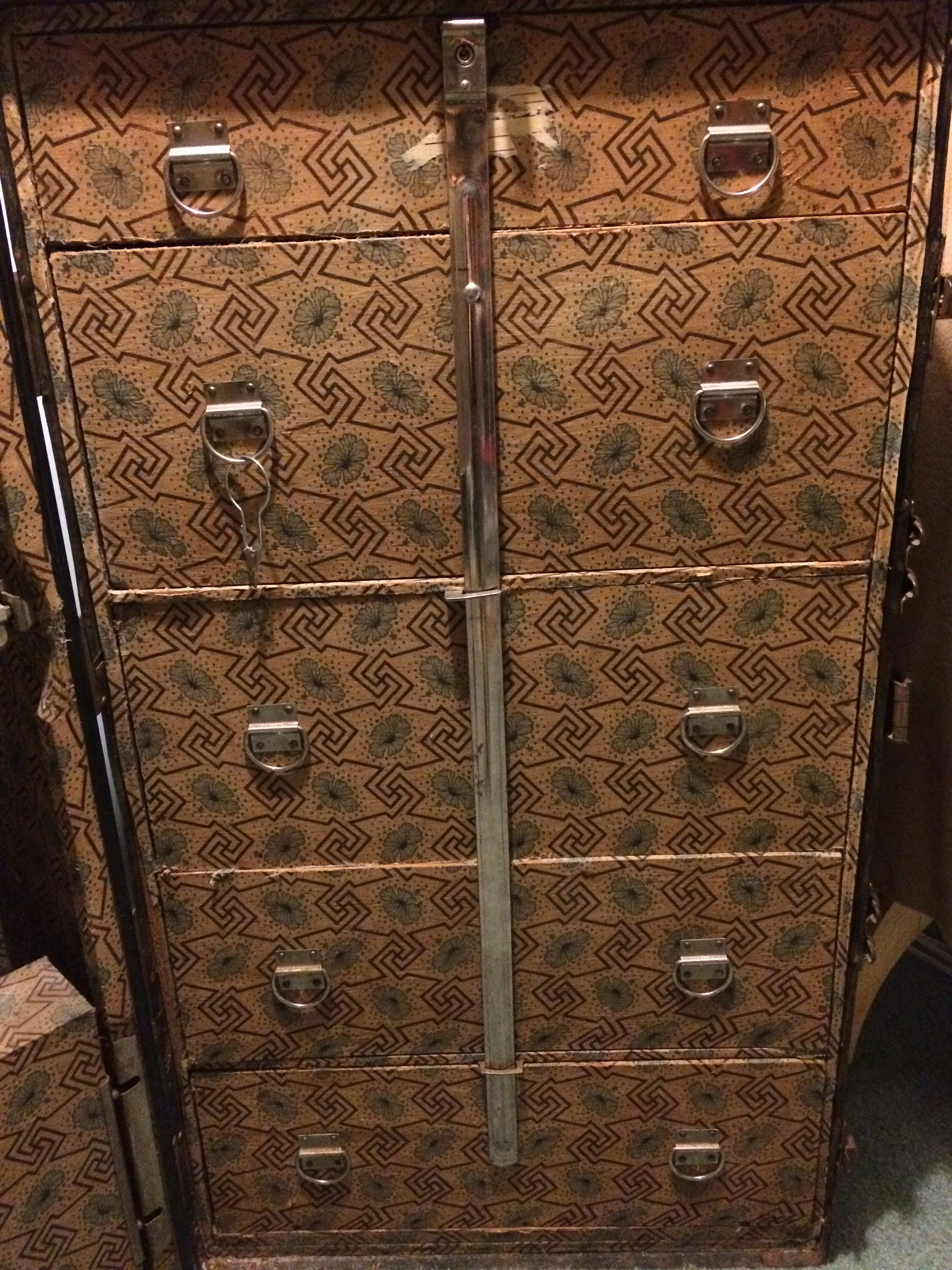 Steamer Trunk Furniture Multnomah Wardrobe Steamer Trunk Baggageman Proof 1920s