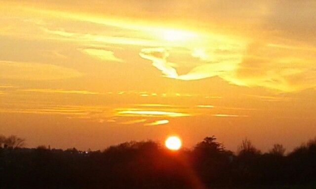 Sunset over Timperley May 2015