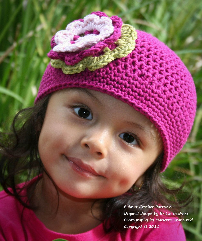 Girls Crochet Hat Pattern | Free Easy Crochet Patterns Girls Crochet ...