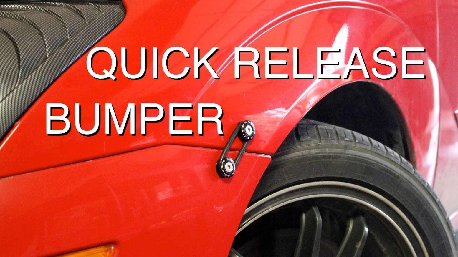 How To Install Quick Release Bumper Fasteners Quick Release Car Fix Bumpers