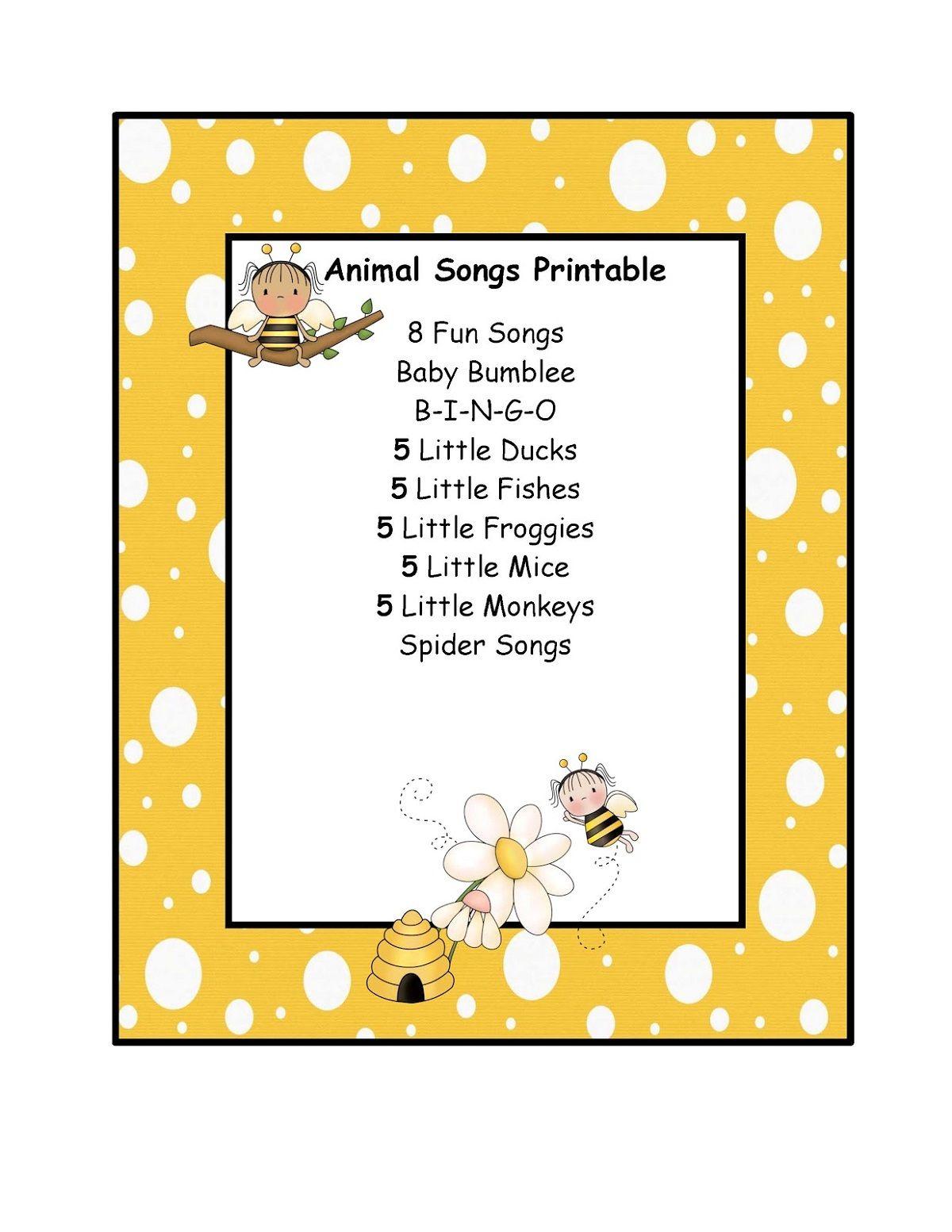 Fun And Free Preschool Printables In