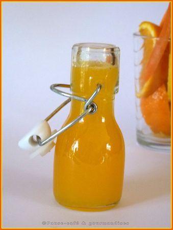 Jus de fruit Thermomix Pour 1 l  de jus de fruits Préparation : 5 minutes - 2 oranges à jus pelées (3 si elles sont petites) - 1 citron pelé - 1/2 carotte pelée - 60 g de sucre en morceaux