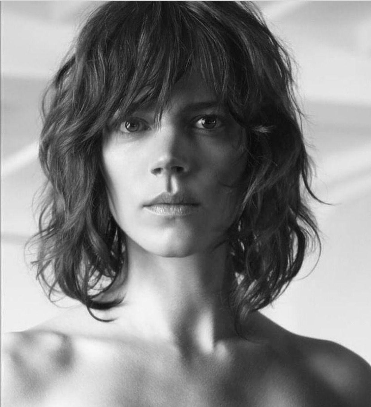 8eeb37e623e Freja Beha Erichsen   hair cut in 2019   Hair cuts, Androgynous hair ...