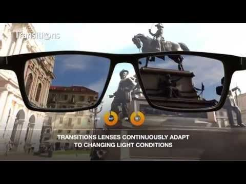 131eff633dd Transitions Adaptive Lenses - How transitions work - YouTube
