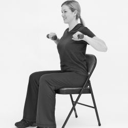 28 strength training balance  chair exercises for