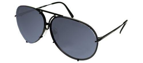 96302fa09ac PORSCHE DESIGN D Aviator Sunglasses Black Matte Frame Size 69 Extra Lens    To view further for this item