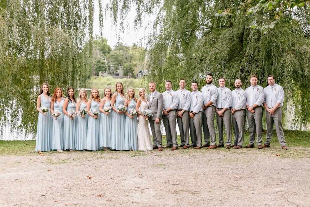 Bridal Party Light Blue Bridesmaids Dresses Dusty Rose Grey Suit Light Blue Bridesmaid Dresses Light Blue Wedding Light Blue Bridesmaid