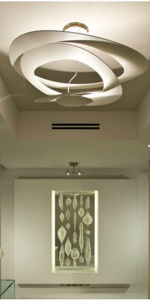 Artemide pirce soffitto led bianco nel 2019 artemide for Imitazioni lampade design