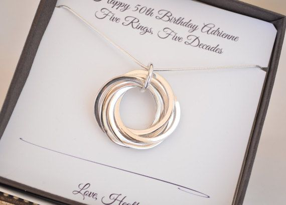 22++ 50th birthday gift ideas for wife jewelry info