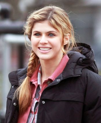 Alexandra Daddario Annabeth Chase At Least She S Blonde This