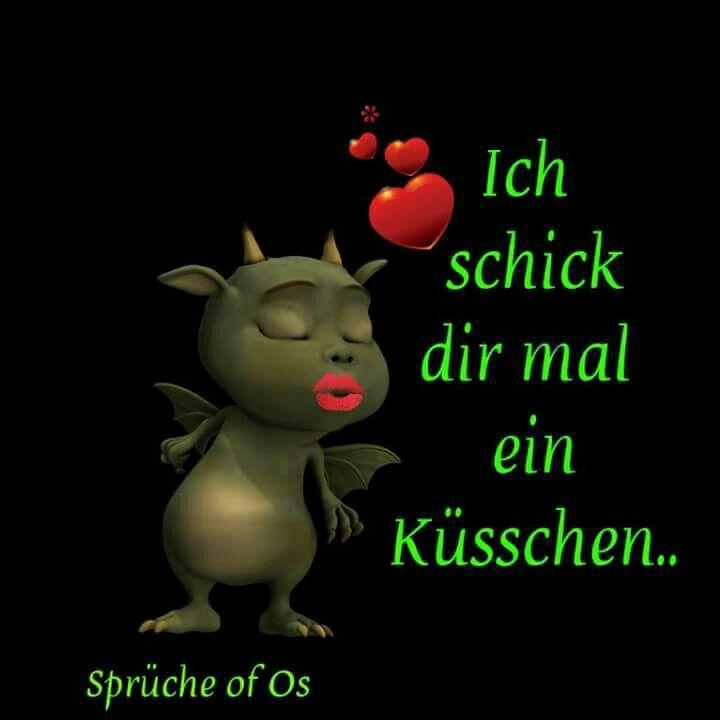 Kusschen Von Spruche Liebe Pinterest Switzerland Smileys
