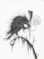 Crow by skottieyoung