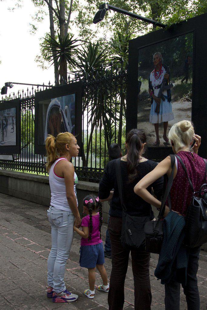 Inauguran en la Galería Abierta de las Rejas de Chapultepec Cuartoscuro: 30 años de retratar México