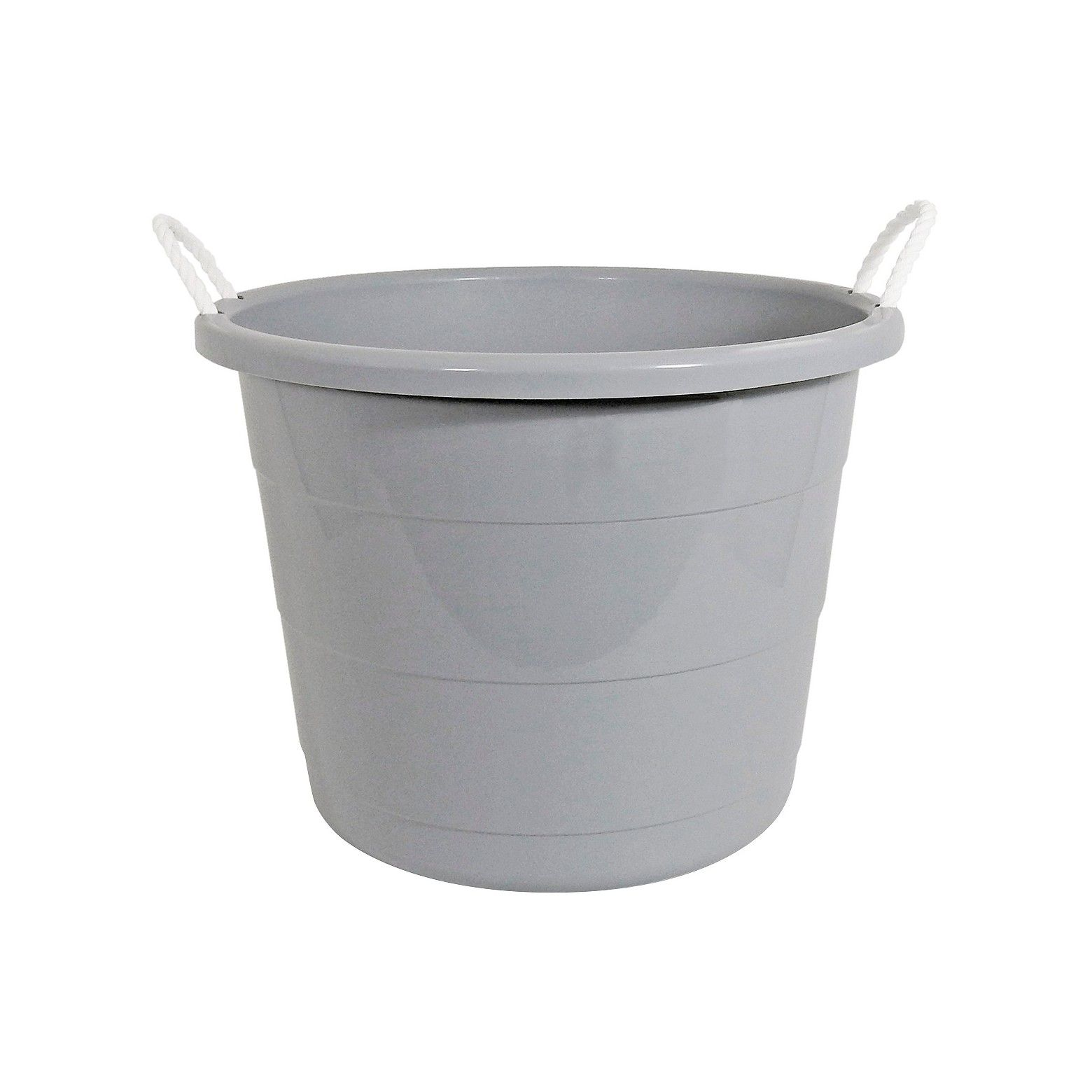 Circo 17 Gallon Rope Storage Tubs Are Open Tubs That Are Ideal For Storing Toys Laundry And Large Plastic Storage Bins Plastic Storage Bins Toy Storage Bins
