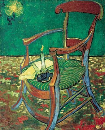 Gauguin's chair, 1888 Vincent van Gogh (1853-1890) Oil on Canvas, 90.5 x 72.5 cm Van Gogh Museum, Amsterdam