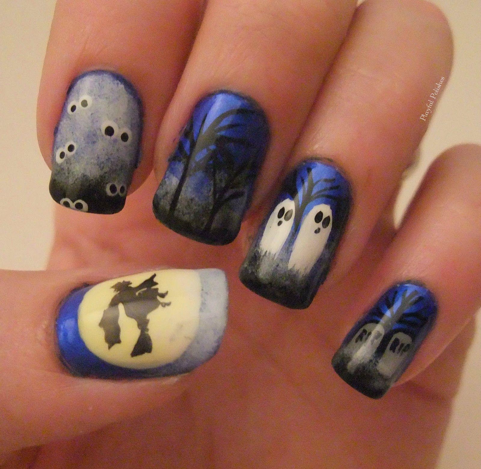 halloween #nails. | nailed it! | pinterest | supernatural nails
