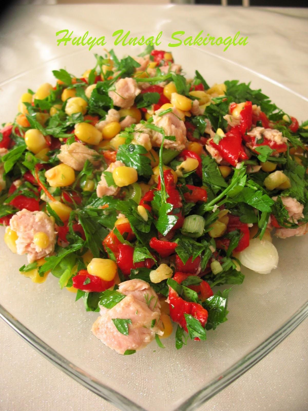 Baharatlı Tuna Salatası Tarifi