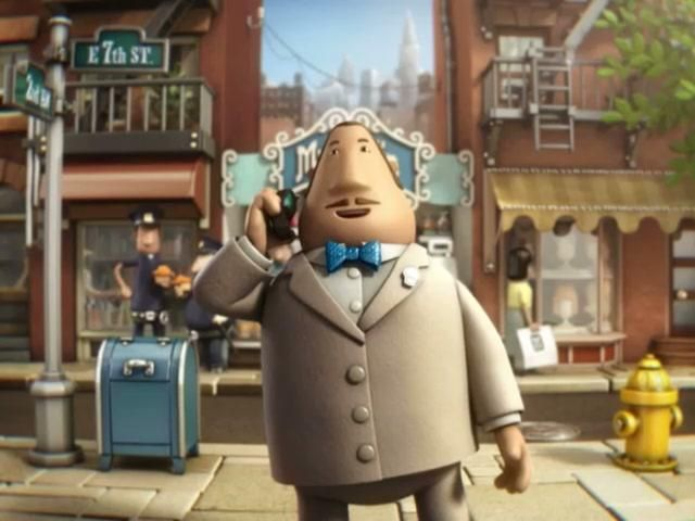 Royal Bank of Canada 'Muffin Man' by Nexus. A fully animated spot taking the viewer through the runaway expansion of a muffin making business from a small stall to international franchise.