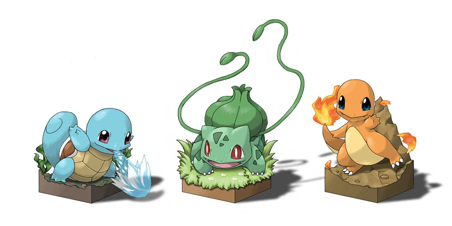 Anime pokemon pok mon squirtle pok mon bulbasaur for Immagini bulbasaur