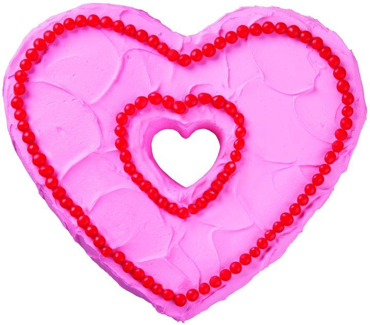 Wilton Valentine Nonstick Fluted Heart Cake Pan on shopstyle.com