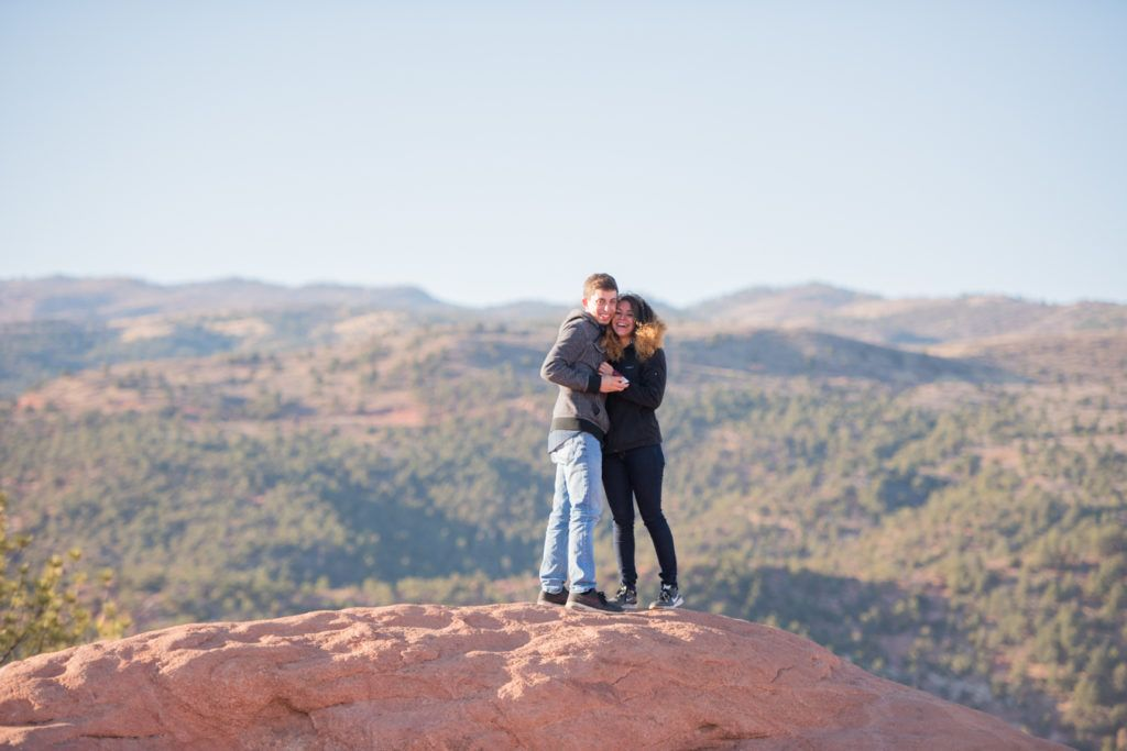 High Point Overlook In Colorado Springs Outside Garden Of