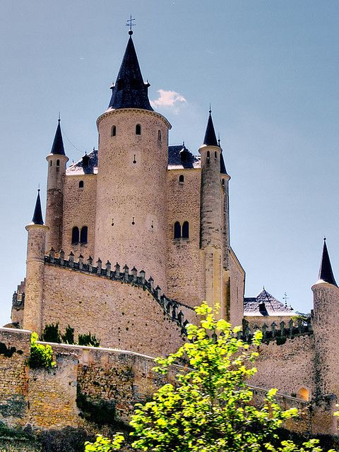 Alc zar de segovia spain segovia castillos lugares for Ciudades mas turisticas de espana