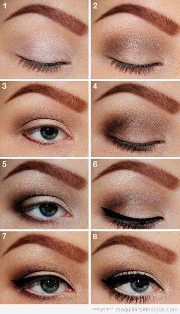 Elegante Idee Für Den Alltag Und Abend Make Up Augen Make Up
